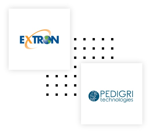 Extron Pedigri Black Box Logistics partners